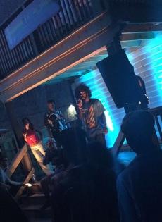 Truey V (@truey_v) at Anti Venue Tour 2015. Photo Credit: @soldieroflove_
